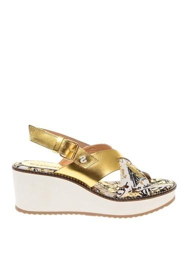Desigual Yürüyüş Ayakkabısı Altın